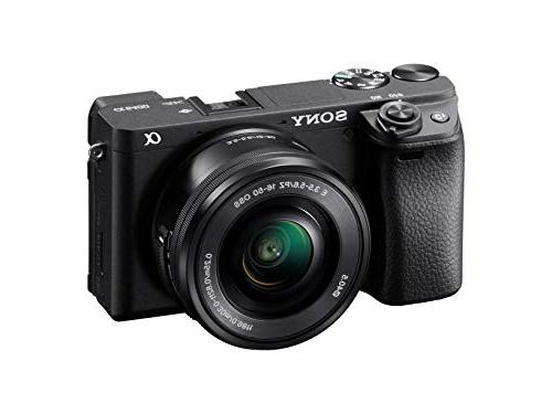 Sony Alpha a6400 Mirrorless Camera: Compact APS-C Lens Digital Camera Real-Time Eye Focus, 4K Video, Screen & E Mount Compatible -