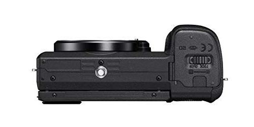 Sony Mirrorless Camera: Interchangeable Lens Digital Real-Time Eye Auto Focus, 4K & E -