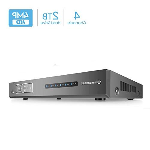 analog 4ch security dvr recorder