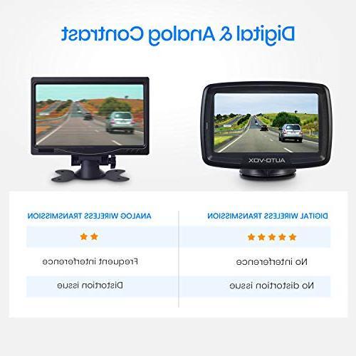 AUTO VOX Backup Stable Monitor Reversing for Cars,RVs