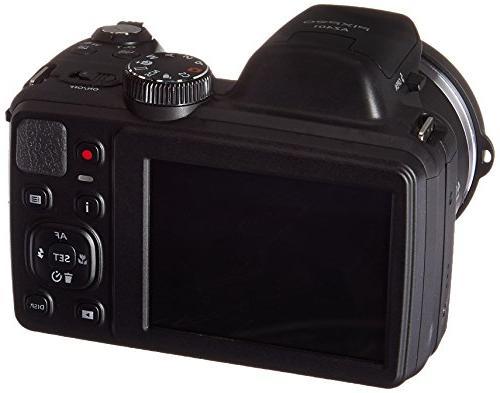 Kodak Astro AZ401-BK Digital Camera with Optical Zoom and
