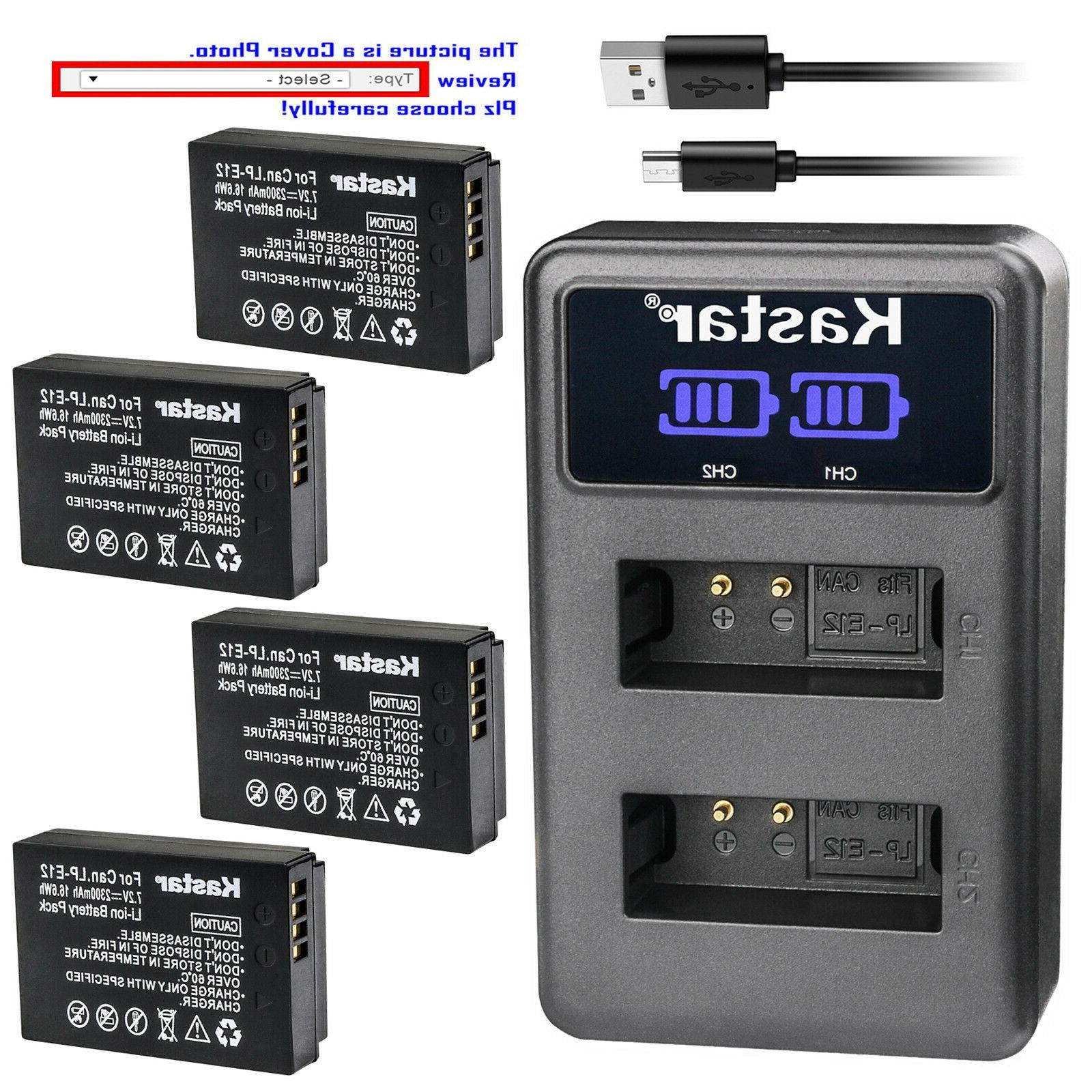 battery lcd dual charger for canon lp