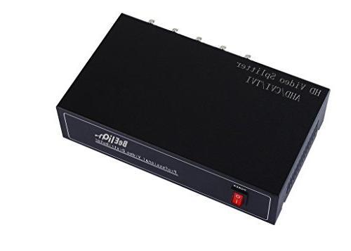 beelion 8way bnc coaxl cctv dvr composite video out ports sw