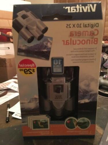 Vivitar Digital 10x25 Camera Binocular