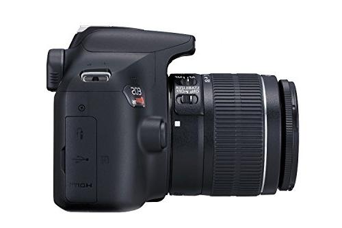Canon T6 SLR Camera Kit with EF-S 18-55mm II Lens, Card, Camera Premium