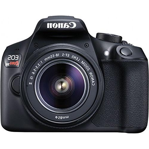 Canon EOS Rebel DSLR Camera EF-S 18-55mm f/3.5-5.6 IS II and III Lens 64GB Cards Triple Accessory