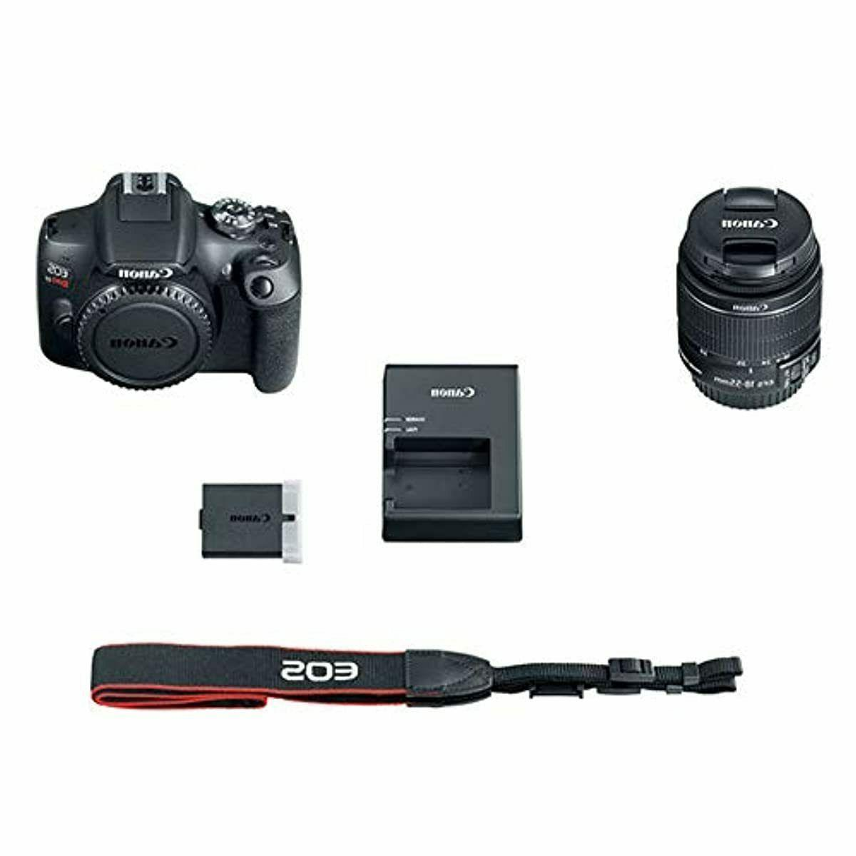DSLR Camera EF-S 18-55mm is