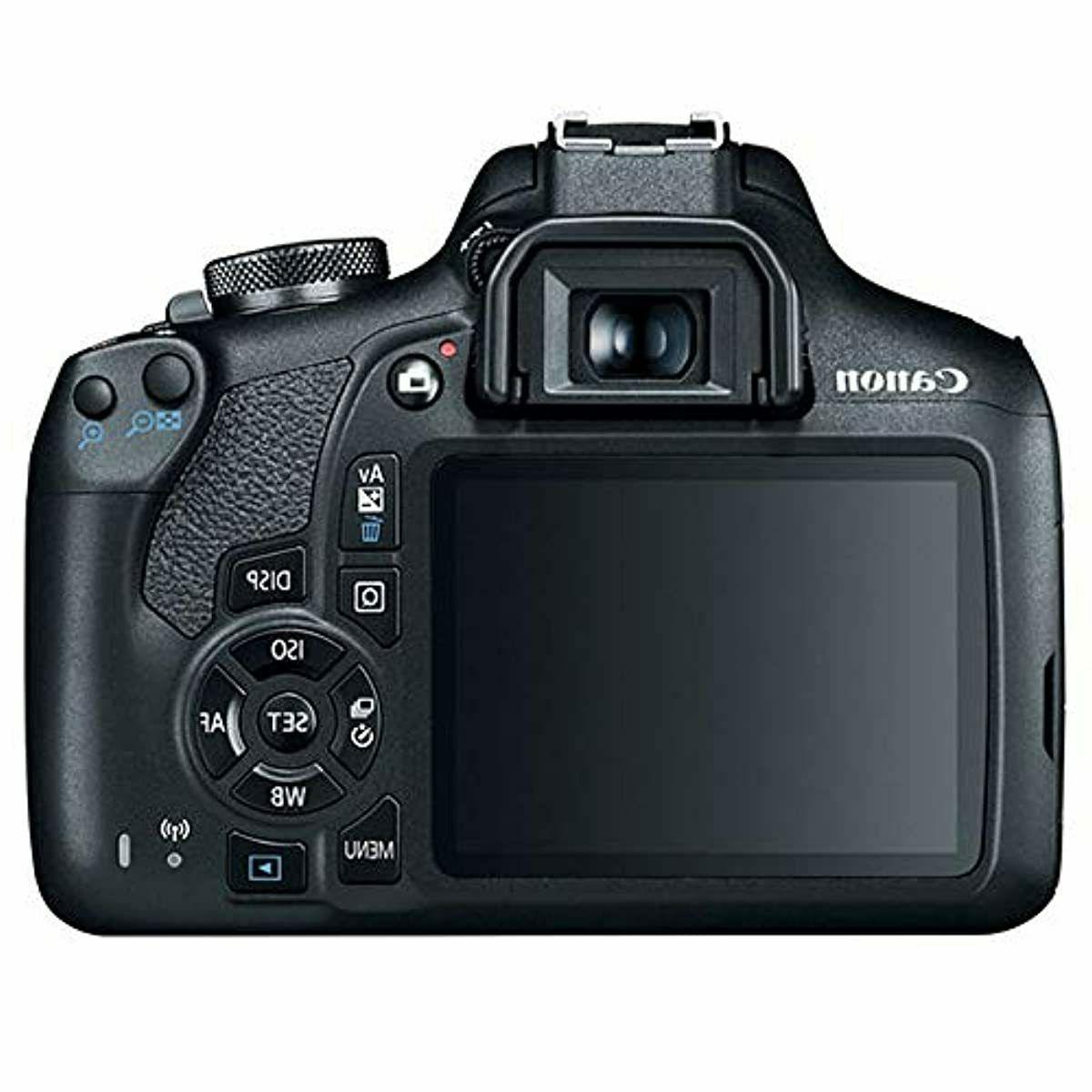 Canon Rebel T7 DSLR Camera 18-55mm f/3.5-5.6 Lens 58mm Pro