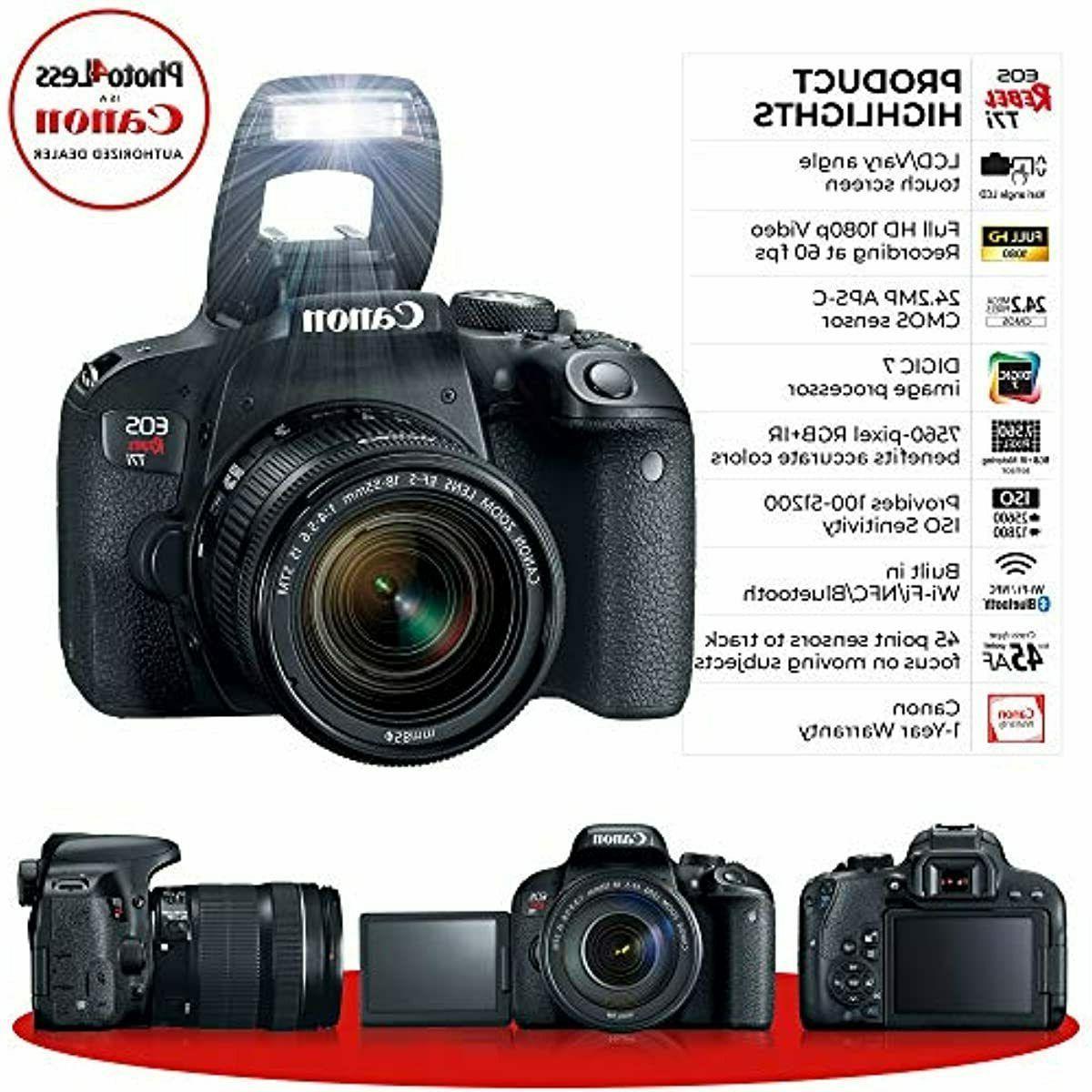 Canon EOS 24.2MP Digital SLR + is