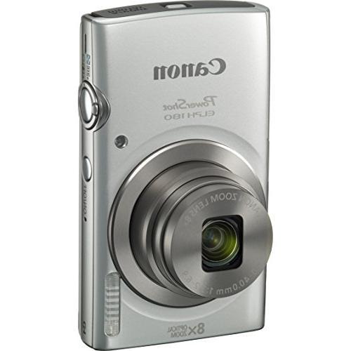 Canon 180 20MP HD Digital Camera 32GB Includes 32GB Memory Mini Cleaning Camera