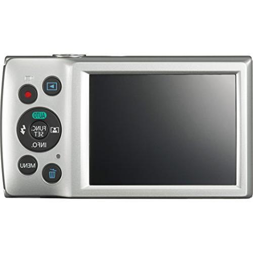 Canon 20MP Silver Camera Card Includes Camera, Mini Cleaning Camera Cloth