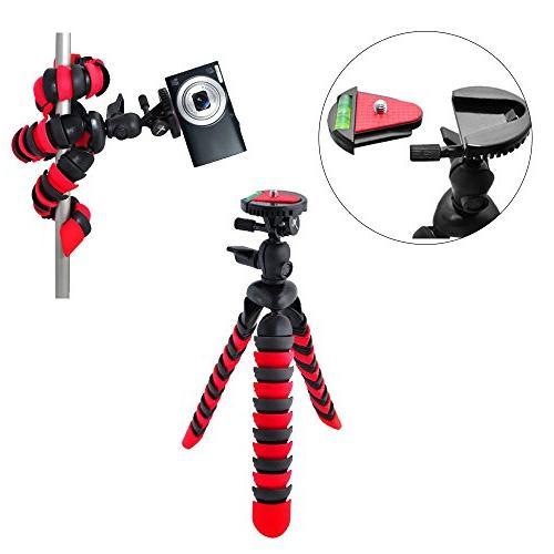 "Canon PowerShot HS Digital 32GB SDHC + Camera Case 67mm 3 Kit + 12"" Tripod + Vivitar Card Hard Case Photo4Less Cloth Cleaning"