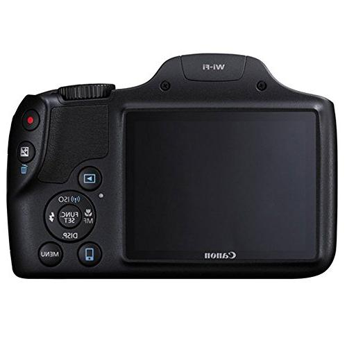 "Canon PowerShot Digital Camera SDHC Card + Case Kit + 12"" Flexible Tripod Card Hard Cloth"