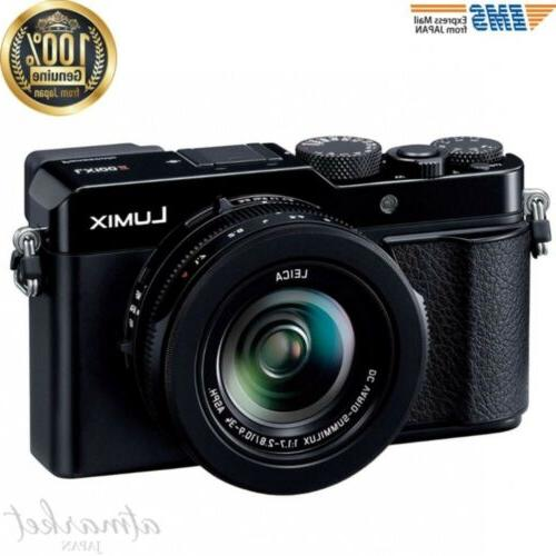 Panasonic compact digital camera DC-LX100M2 Lumix 4/3 type s