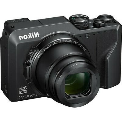 Nikon Coolpix Camera Black