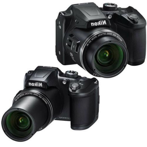 Nikon COOLPIX 40x Camera 64GB Kit