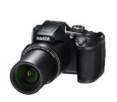 coolpix b500 digital camera black