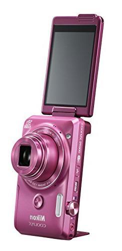 Nikon COOLPIX S6900 16MP Digital Camera with 12x Zoom, Gloss