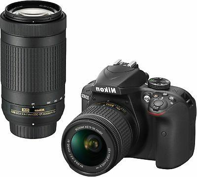 Nikon D3400 Digital Camera Kit with Nikkor 18-55mm AF-P VR a