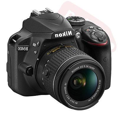 Nikon D3400 24.2 Megapixel Digital SLR Camera Lens - Black - 3 - Optical - 6000 x 4000 1920 - Movie LAN