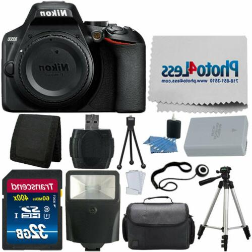 d3500 digital slr dslr camera body black