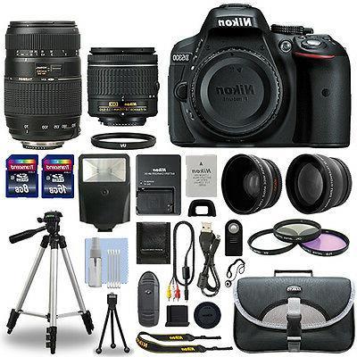 d5300 digital slr camera 4 lens kit