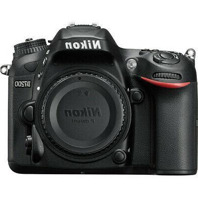 Nikon D7200 Digital Camera F Mount  -