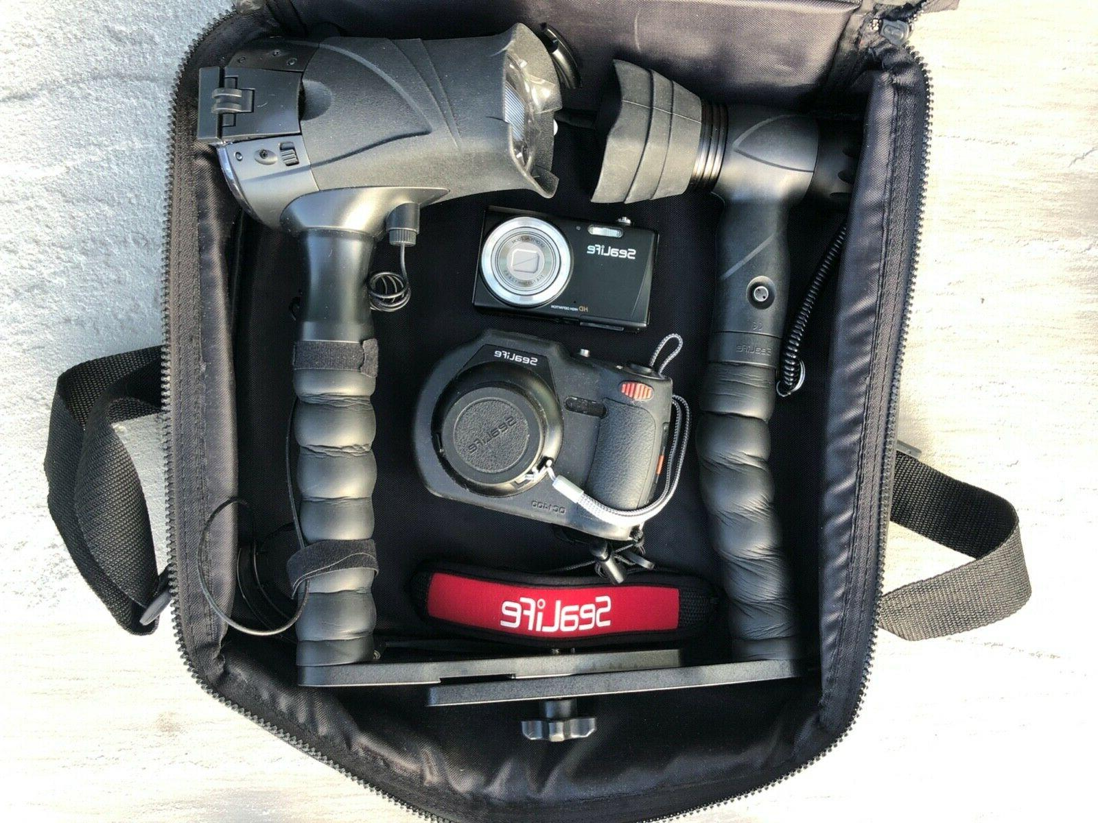 dc1400 underwater camera with digital flash