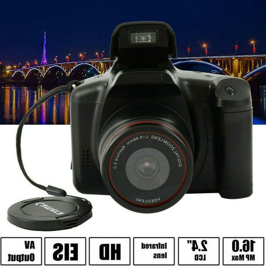 Digital Camera Inch TFT LCD Screen 16MP 1080P 16X Anti-shake USA