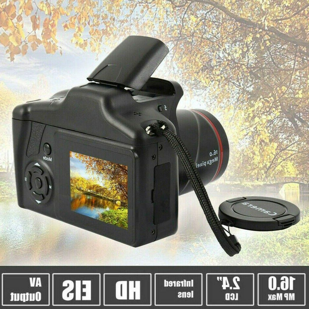 Digital 3 TFT Screen HD 16MP 1080P Zoom Anti-shake