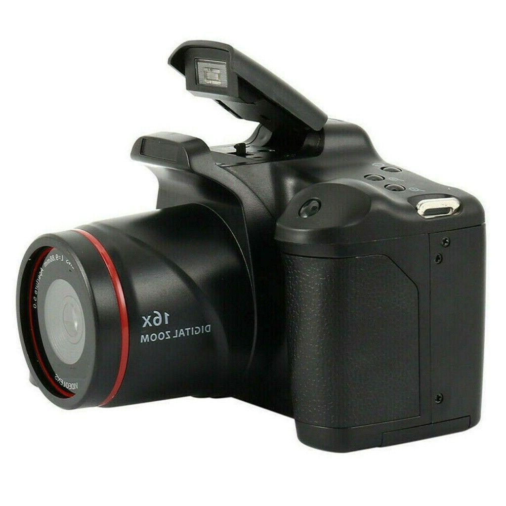 Digital Camera TFT LCD Screen 16MP 1080P Zoom Anti-shake USA
