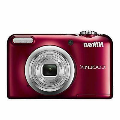 Nikon digital A10 Red 5x zoom 16,140,000 pixels cell