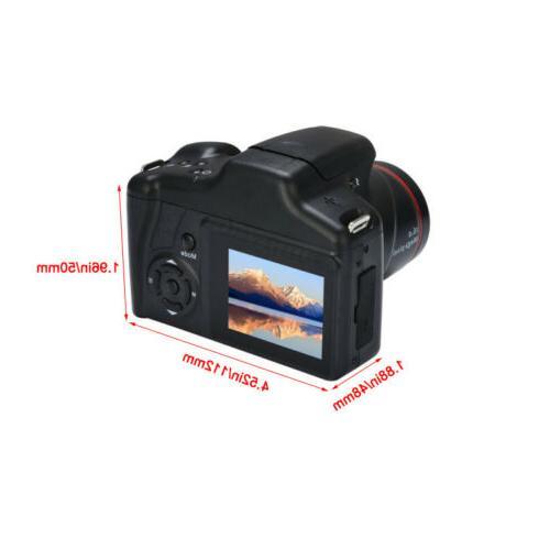 Digital SLR Camera Inch LCD Screen 1080P Zoom