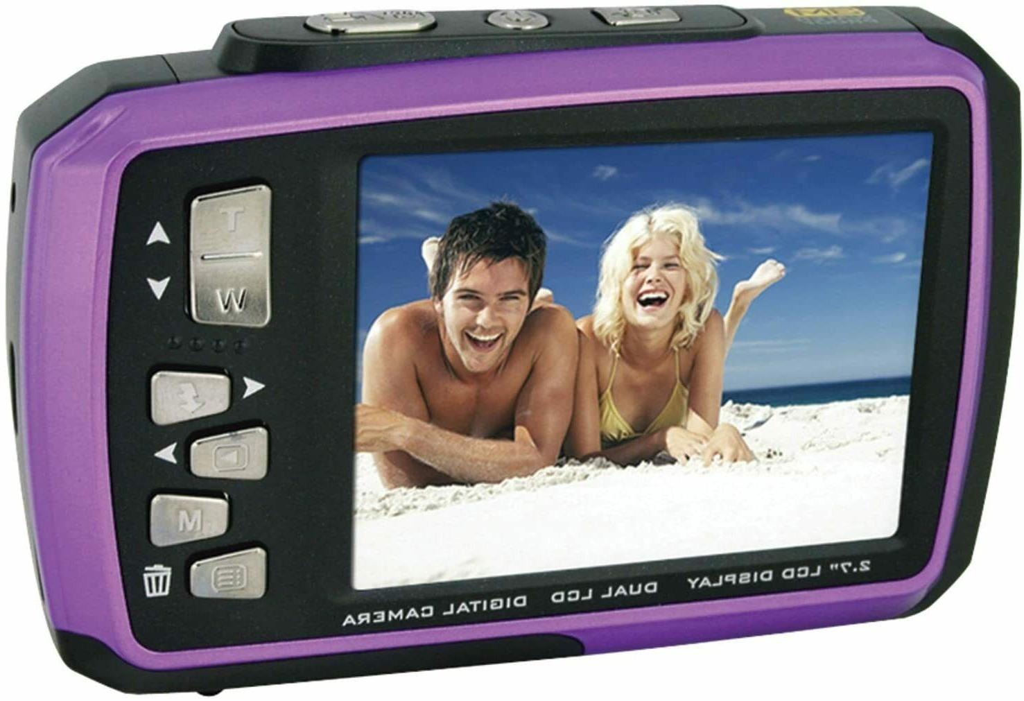 Coleman Duo Purple Waterproof Digital with 2V7WP-P