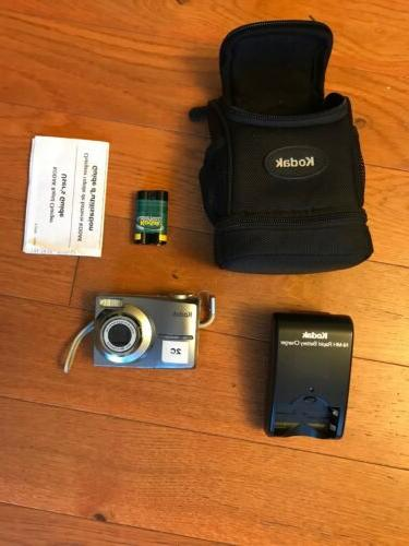 Kodak EasyShare C813 8.2MP Digital Camera Silver - charger ,