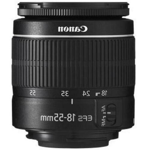 Canon EOS 2000D DSLR Camera 18-55mm Lens 8GB Bundle