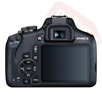Canon EOS Rebel + 75-300mm + Piece