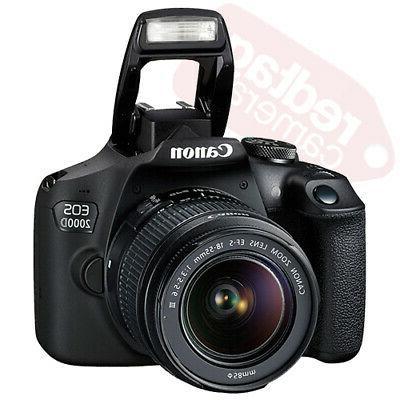 Canon Rebel T7 + 18-55mm + Piece