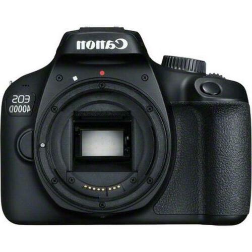 Canon 4000D / Rebel T100 18MP SLR Premium Kit
