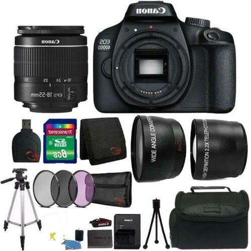 eos 4000d 18mp digital slr camera 18
