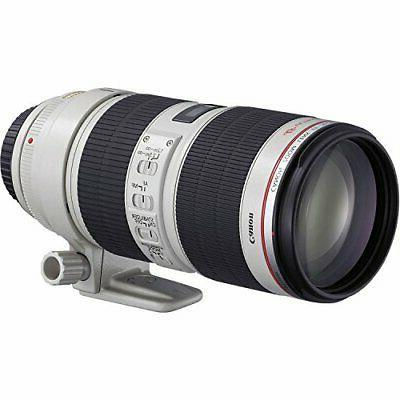 Canon EOS Mark IV DSLR Camera Piece w/ 70-200mm 2.8L