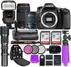 Canon EOS 80D 24.2MP CMOS Full HD Wi-Fi Enabled Digital SLR