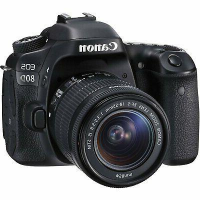 Canon DSLR Camera + 18-55mm DG HSM Art +d