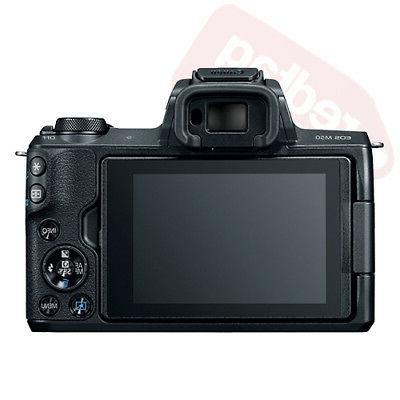 Canon Body Black Lens STM+ + Flash &