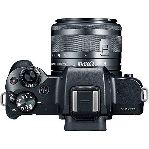 Canon M50 Mirrorless Camera Kit and 4K