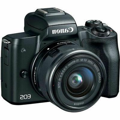 eos m50 mirrorless kit w