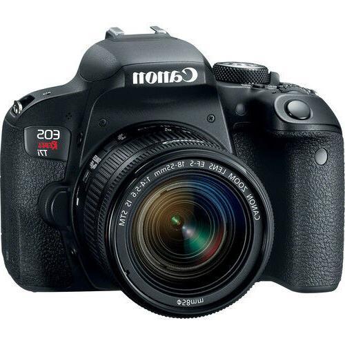 Canon Rebel 800D / T7i 24.2MP Digital SLR Camera 18-55mm Lens