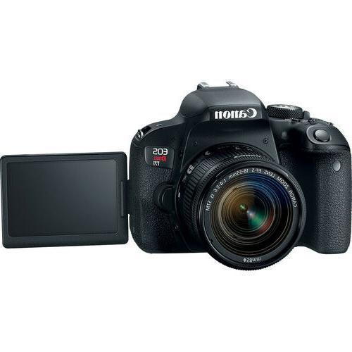 Canon EOS 800D / T7i 24.2MP Digital SLR Camera w/ EF-S 18-55mm