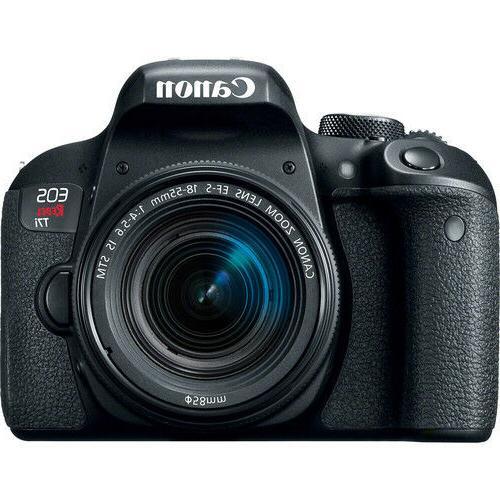Canon / T7i 24.2MP SLR Camera w/ EF-S