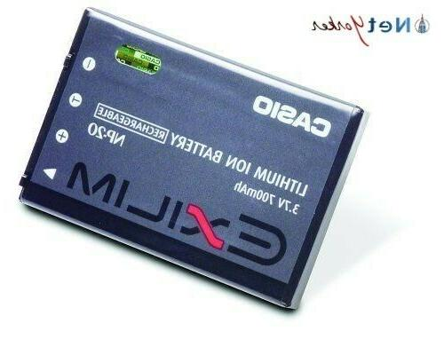 genuine np 20 lithium rechargeable battery